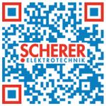 Kreativer QR-Code - Scherer