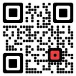 Kreativer QR-Code - Konzept-E